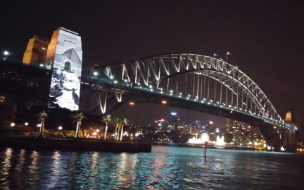 Anzac on the harbour.