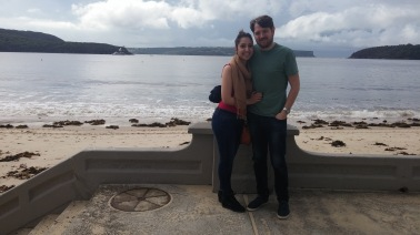 After our visit to Manly.