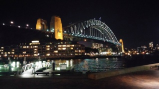 Breathtaking view of the Sydney Harbour Bridge.