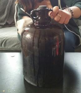 Polishing my dazzling jar of nothing.
